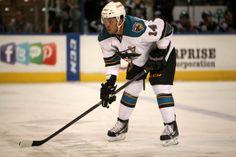 Worcester Sharks defenseman Sena Acolatse (Dec. 13, 2013).