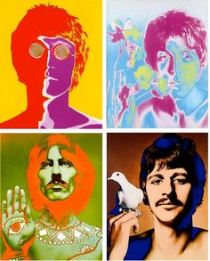 The Beatles by Richard Avedon,1967 ~ things he looks AT and UP TO.