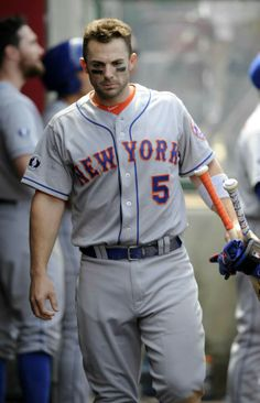 David Wright after he was ejected for arguing balls and strikes.