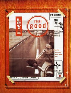 """Levi's """"Real Good Jeans"""" Posters"""