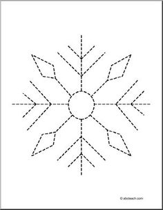 Pre-School Tracing Pages or fine motor skills Abc Activities, Preschool Worksheets, Winter Activities, Preschool Crafts, Winter Fun, Winter Theme, Snow Theme, Theme Noel, Pre Writing