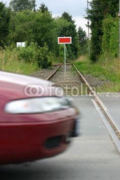 Gesperrte Bahnstrecke