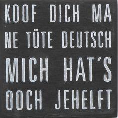 Deko Box mit Spruch // quote box via DaWanda.com