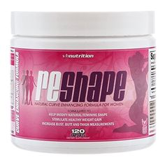 Reshape | Natural Curve Enhancement and Enlargement Pills for Women| Butt and Breast Enhancer