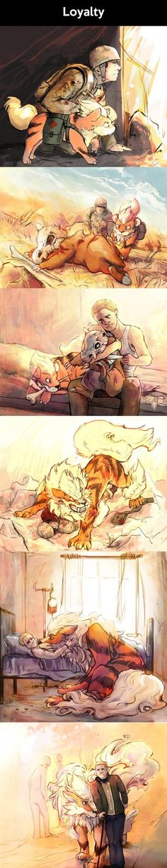 And this is why I want an arcanine
