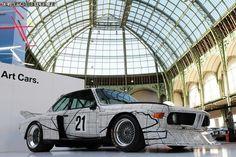 BMW Art Car at the Zentrum in South Carolina