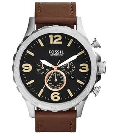Fossil Nate Watch at Buckle.com
