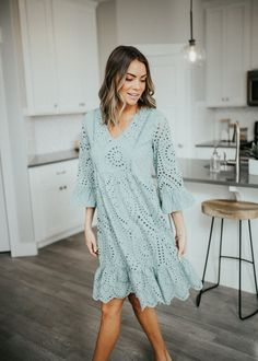 Dream Girl Dress (Sage) –  Maxwell
