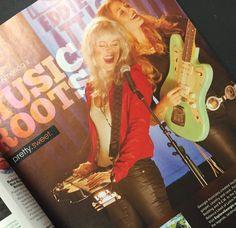 Larkin Poe Georgia music advert in Atlanta Magazine, pretty sweet!