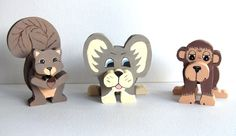 3D Wood Critters