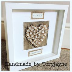 Personalised 3D Heart With Printed Detail
