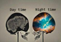We belong to the night ....