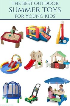 the best outdoor toys for summertime. Outdoor Toys For Toddlers, Best Outdoor Toys, Outdoor Play, Best Toys For Toddlers, Outside Toys For Toddlers, Toddler Fun, Toddler Gifts, Top Toddler Toys, Toddler Christmas Gifts