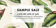 Deus Ex Machina Sample Sale -- Amsterdam -- 14/07-19/07