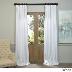 EFF Linen 120-inch Curtain Panel - 17661761 - Overstock.com Shopping - Great Deals on EFF Curtains