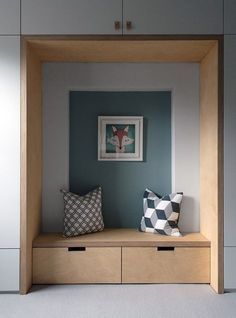 Home Interior Drawing Dulwich - Picture gallery.Home Interior Drawing Dulwich - Picture gallery Dulwich Picture Gallery, House Entrance, Hallway Ideas Entrance Narrow, Modern Hallway, Entryway Bench, White Hallway, Entrance Halls, Entryway Decor, Kids Room Design