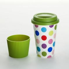 """Coffee-to-go-Becher """"Fancy Dots"""""""