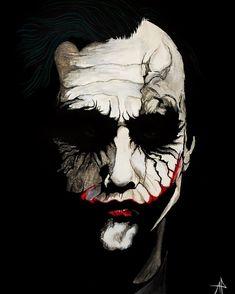 Heath Ledger by adrienpht Batman Joker Wallpaper, Joker Iphone Wallpaper, Joker Wallpapers, Marvel Wallpaper, Der Joker, Heath Ledger Joker, Joker Art, Joker Images, Joker Pics
