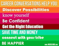 7 Ways Career Conversations Change Your World