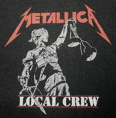 i want lean to ply 80s metal music   ... vintage 1988 crew tour t-shirt - concert music rock thrash metal 1980s