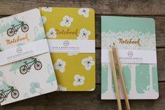 Sneak peek from Kate & Birdie via Oh So Beautiful Paper. #notebook #nss