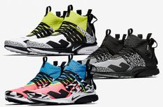 online store c1d65 03e12 Release Date  Acronym x Nike Air Presto Mid 2018 Pack