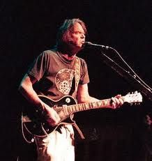 The Godfather of Grunge Neil Young and his Les Paul (or, as I always say Les Paul/More George)