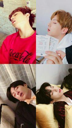 Jungkook sleep
