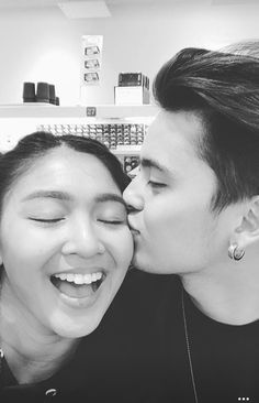 Happy V-Day Jadine! Cute Relationship Goals, Cute Relationships, James Reid Wallpaper, Happy V Day, Daniel Padilla, Liza Soberano, Nadine Lustre, Badass Aesthetic, Jadine
