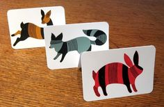 Animal Cards - sold individually: love these!
