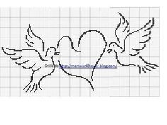 Beading Patterns Free, Hand Embroidery Patterns, Loom Patterns, Cross Stitch Patterns, Fillet Crochet, Christian Crafts, Afghan Crochet Patterns, Le Point, Loom Beading