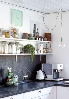 Casa Cafeína | Decoração e D.I.Y.: Dica: Cozinha sem armário