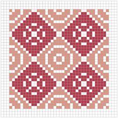 The world according to Ági: Geometric quilt - free cross stitch pattern