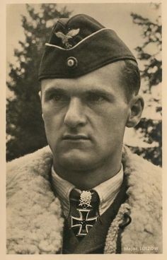 Günther Lützow later joined Adolf Galland's JV 44 and recorded two victories flying the Me 262 jet fighter, but was posted missing near Donauwörth. A B-26 was shot down by Lützow. His body and aircraft were never recovered Günther Lützow was credited with 110 victories, achieved in over 300 combat operations. He scored 5 victories during the Spanish Civil War, 20 victories over the Western Front and 85 victories over the Eastern Front.