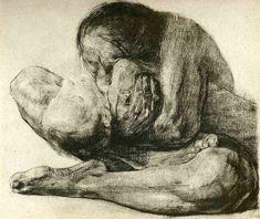 Käthe Kollwitz - Woman with Dead Child - 1903