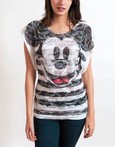 Mickey Mouse  Casual  Fashion