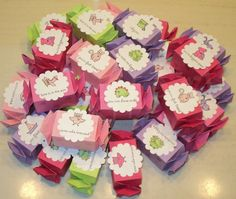Valentine Candy Boxes Set of 30 by beadshack on Etsy, $22.50