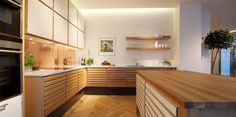The Foolproof Customized Kitchen Cabinets in Smoked Oak Strategy Whichever prepared to assemble cabinet you will prefer, you will certainly secure stu. Dining Bench, Kitchen Dining, Kitchen Cabinets, Micro House, Interior Design Kitchen, Home Kitchens, Sweet Home, House Styles, Wood