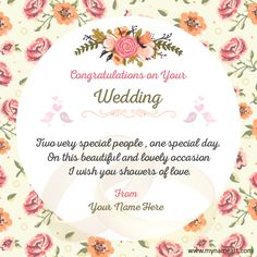 Happy wedding wishes messages congratulations may your married congratulations wedding card is easy on the eye ideas which can be applied into your wedding invitation 2 m4hsunfo