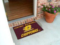 Central Michigan University Starter Nylon NCAA Doormat