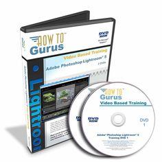 New! Adobe Photoshop Lightroom 5 video tutorial training on 2 DVDs 9 hours #HowToGurus