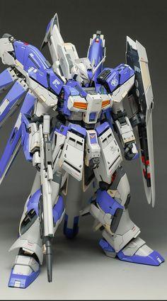 Custom Build: MG 1/100 hi-nu Gundam Ver. Ka [Detailed] - Gundam Kits Collection News and Reviews