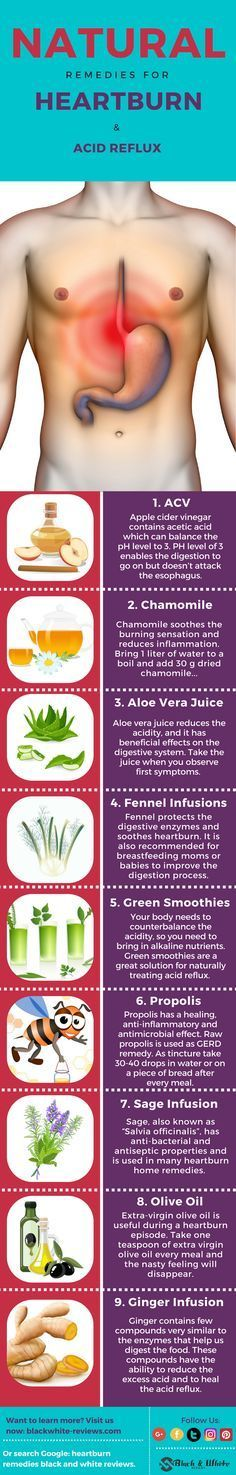 Heartburn and acid reflux remedies. Here are top 10 recipes and how to use them to get rid of the severe symptoms. STOP Gerd now with DIY home remededies that will give you an instant relief.