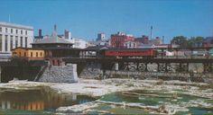 Lehigh Valley RR Rochester Station 1949