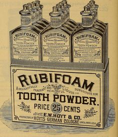 Vintage Tooth Powder Find the hidden potential in your practice!  www.TanyaBrownDMD.com
