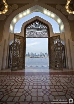 lespritmodeste:    Masjid Al-Dawla (Qatar) by RASHID ALKUBAISI on Flickr.