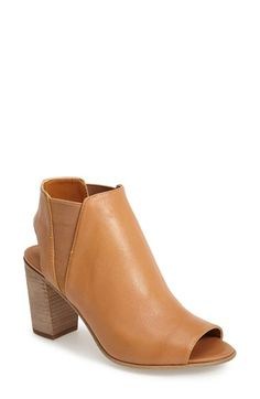 Steve Madden 'Nobel' Open Toe Bootie (Women) available at #Nordstrom