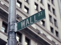 Wall Street Sign, Financial District, NYC, NY
