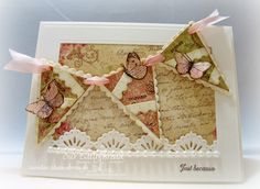 Stamps - Our Daily Bread Designs Faith, Ornate Border Sentiments, ODBD Custom Beautiful Borders Dies, ODBD Custom Pennant Dies, ODBD Custom Window Die, ODBD Blushing Rose Paper Collection