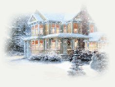 house in winter | Winter House In Snow Pictures, Photos, and Images for Facebook, Tumblr ...